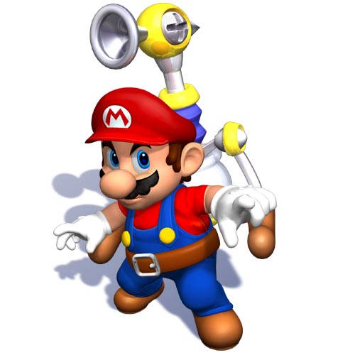 super mario bros wallpaper. Mario Sunshine/Mario 2002